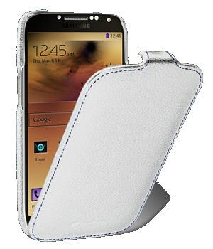 Чехол Melkco Jacka leather case for Samsung i9500 Galaxy S4 (white)