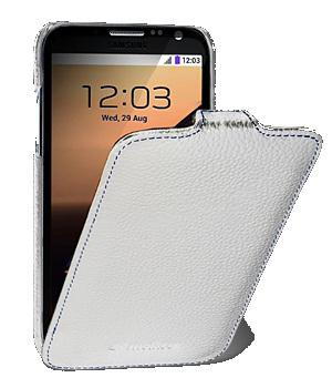 Чехол Melkco Jacka leather case for Samsung N7100 Galaxy Note 2 (white)