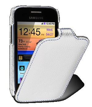 Чехол Melkco Jacka leather case for Samsung S6802 Galaxy Ace Duos (white)