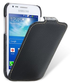 Чехол Melkco Jacka leather case for Samsung S7270 Galaxy Ace 3 (black)