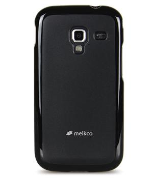 Чехол-накладка Melkco Poly Jacket TPU Case для Samsung i8160 Galaxy Ace 2 (Black)