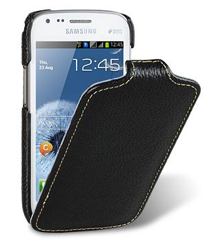 Melkco чехол-флип Jacka leather case for Samsung Galaxy S Duos S7562 (black)
