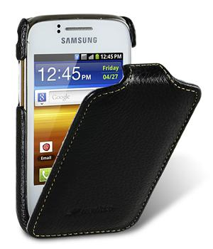 Чехол Melkco Jacka leather case for Samsung S6102 Galaxy Y DuoS (black)