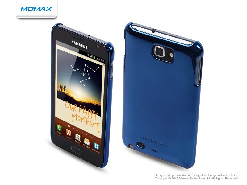 Momax Чехол Ultra TOUGH Shiny Series для Samsung Galaxy Note (Blue)