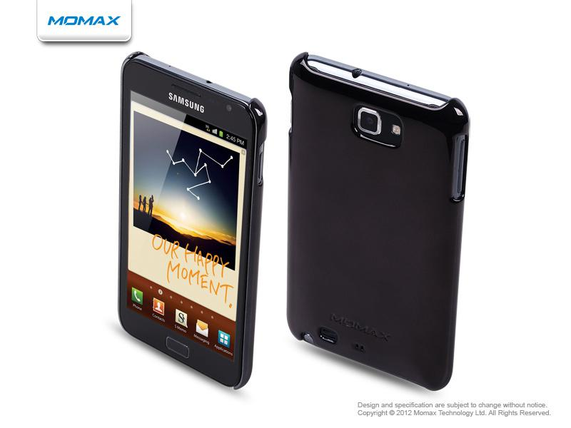 Momax Чехол Ultra TOUGH Shiny Series для Samsung Galaxy Note (black)