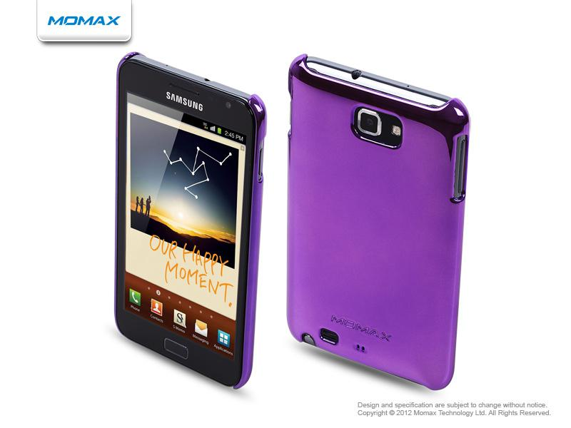 Momax Чехол Ultra TOUGH Shiny Series для Samsung Galaxy Note (purple)