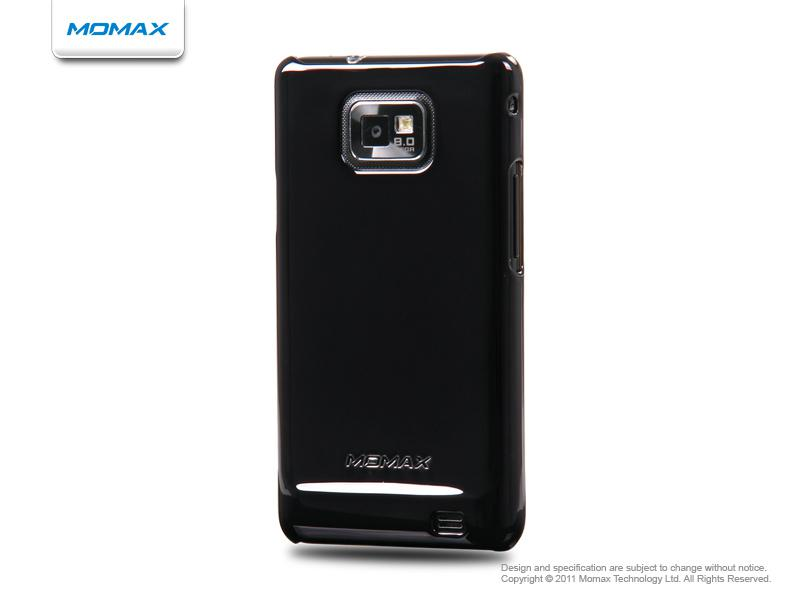 Momax Чехол Ultra TOUGH Shiny Series для Samsung i9100 Galaxy S II (Black)