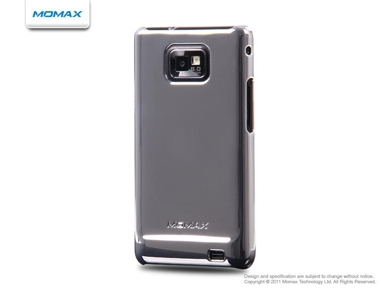 Momax Чехол Ultra TOUGH Shiny Series для Samsung i9100 Galaxy S II (silver)