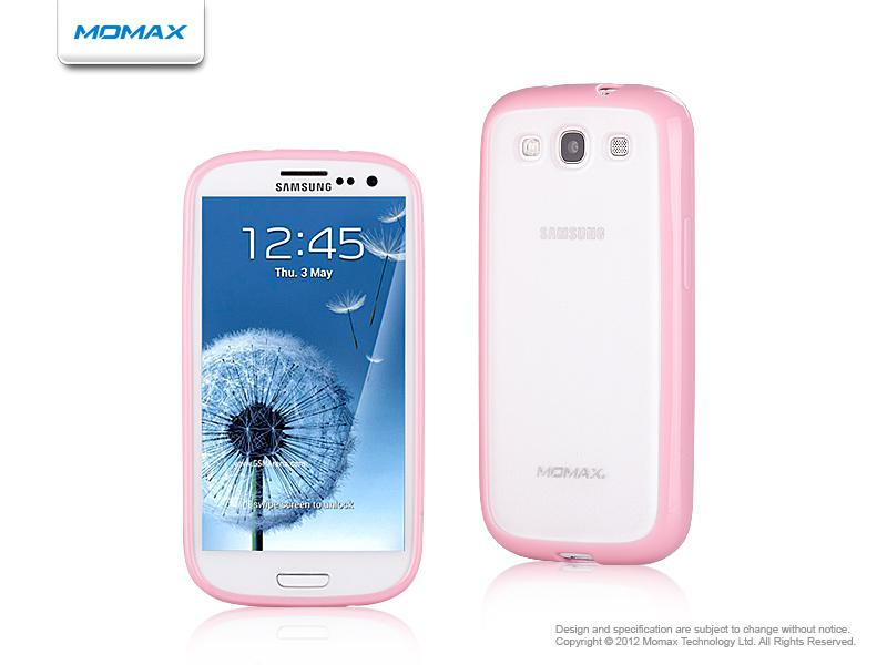 Momax iCase Pro для Samsung i9300 Galaxy S III (pink/white)