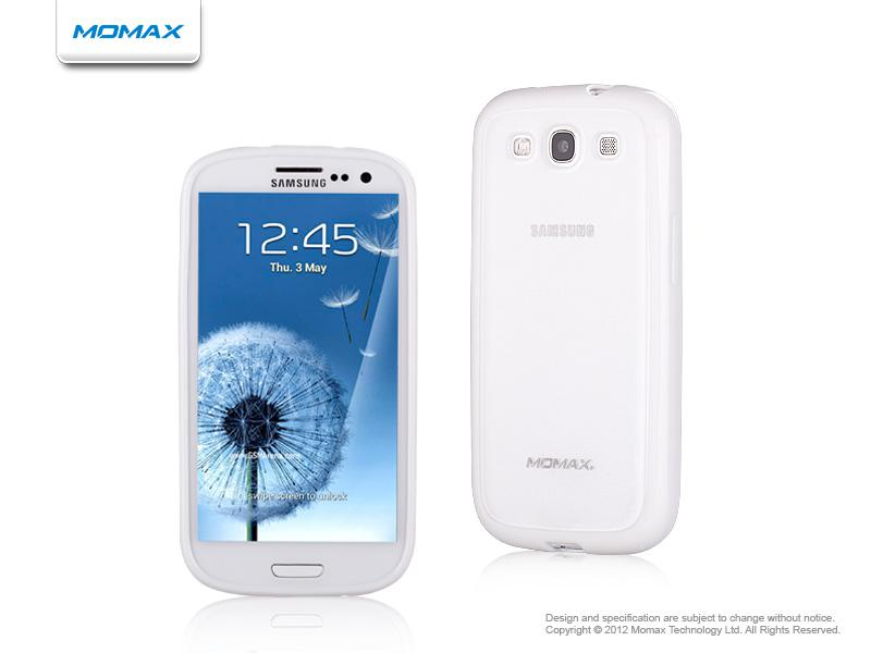 Momax iCase Pro для Samsung i9300 Galaxy S III (white)