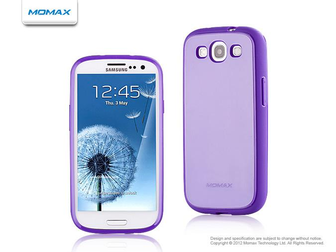 Momax iCase Shine для Samsung i9300 Galaxy S III (purple)
