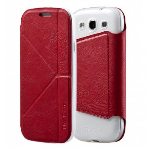 Momax Smart case для Samsung i9300 Galaxy S III (red)