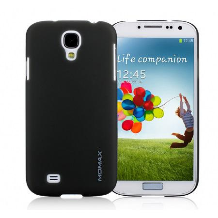 Чехол-накладка Momax Ultratough Transparent case for Samsung i9500 Galaxy S IV (black)
