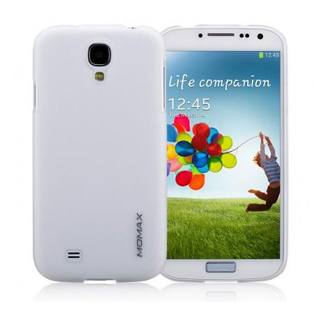 Чехол-накладка Momax Ultratough Transparent case for Samsung i9500 Galaxy S IV (white)