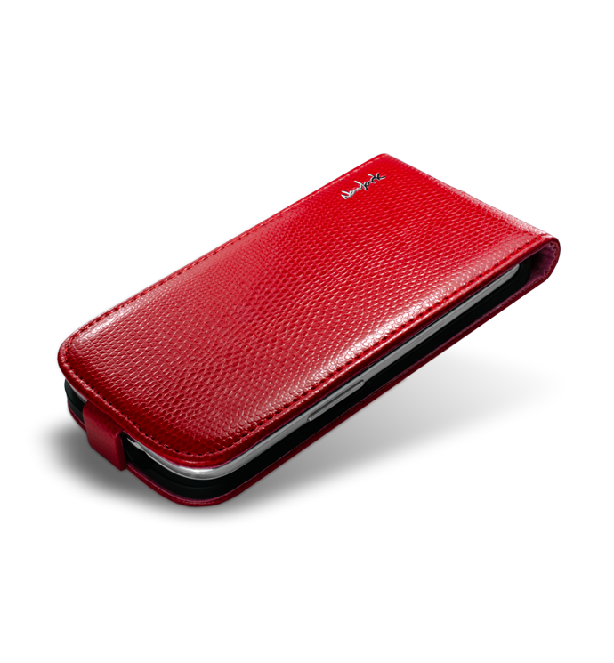 Чехол NavJack Vellum series flip case for Samsung i9300 Galaxy S III (scarlet red)
