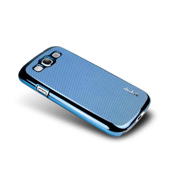 NavJack накладка на заднюю часть Corium series case for Samsung i9300 Galaxy S III (ceil blue)