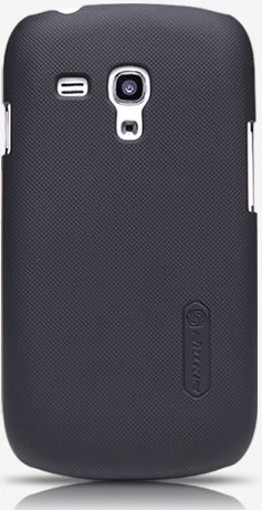 Чехол-накладка Nillkin Super Frosted Shield case for Samsung i8190 Galaxy S III Mini (black)