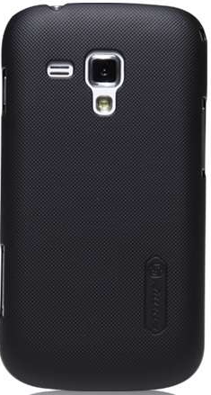 Чехол-накладка Nillkin Super Frosted Shield case for Samsung S7562 Galaxy S Duos (black)