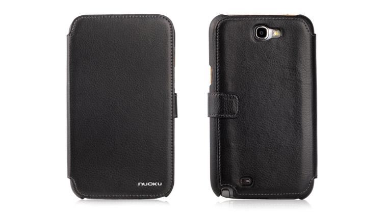 Чехол Nuoku Pride Series Exclusive Leather Case for Samsung N7100 Galaxy Note 2 (black)