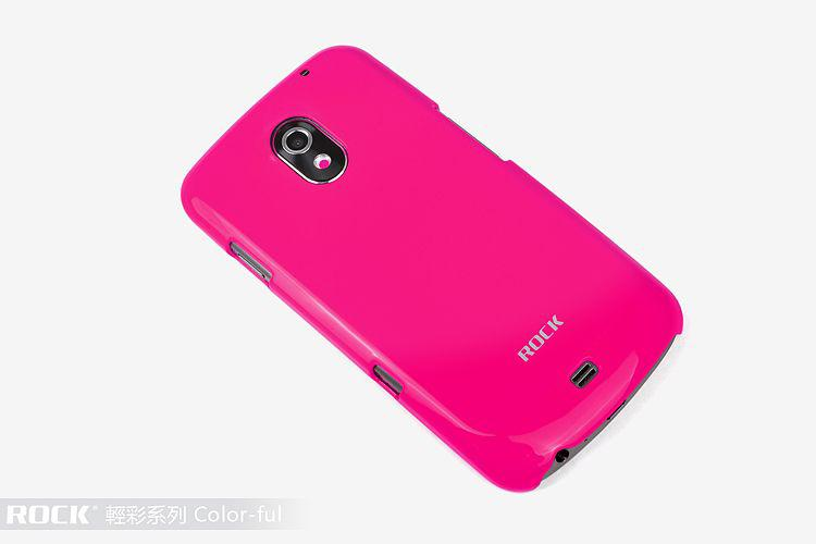 ROCK Colorful back cover для Samsung i9250 Galaxy Nexus (rose red)