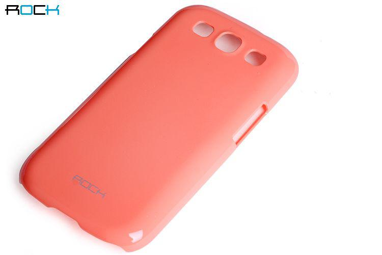 ROCK Colorful back cover для Samsung i9300 Galaxy S III (bright red)