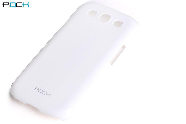 ROCK Colorful back cover для Samsung i9300 Galaxy S III (white)