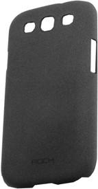 Чехол ROCK Quicksand back cover for Samsung i9300 Galaxy S3 (dark grey)