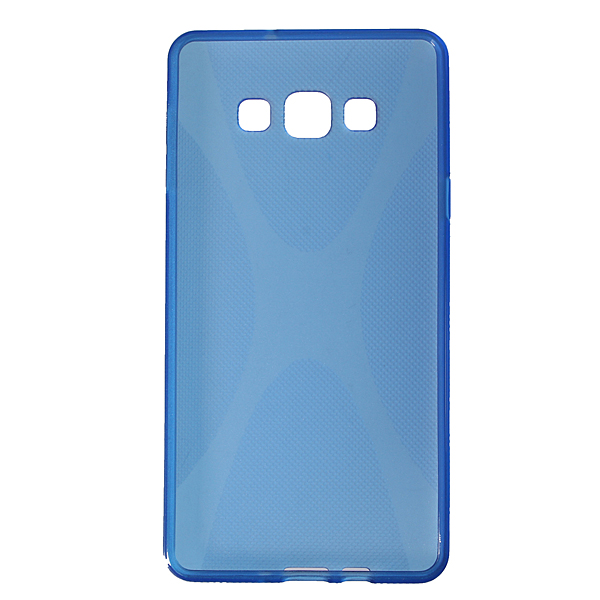 Чехол-накладка TPU cover case for Samsung A700 (A7) (blue)