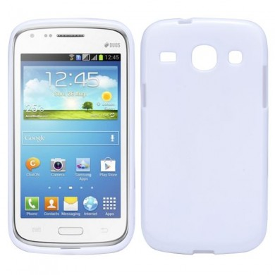 Чехол-накладка TPU cover case for Samsung i8260/i8262 Galaxy Core (white)