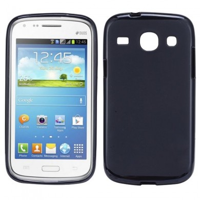 Чехол-накладка TPU cover case for Samsung i8260/i8262 Galaxy Core (black)