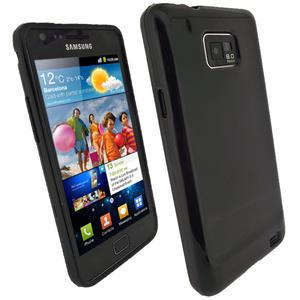 Чехол-накладка TPU cover case for Samsung i9100/i9105 Galaxy S II (black)