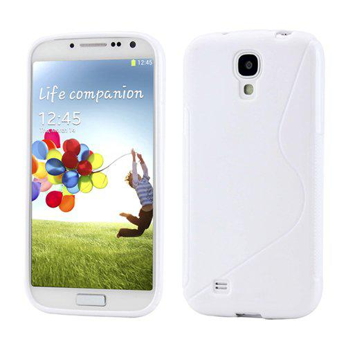 Чехол-накладка TPU cover case for Samsung i9500 Galaxy S4 (white)