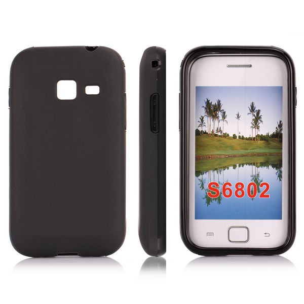 Чехол-накладка TPU cover case for Samsung S6802 Galaxy Ace Duos (black)