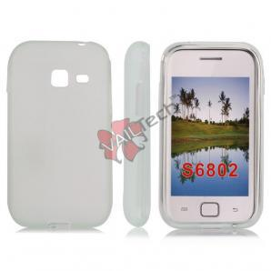 Чехол-накладка TPU cover case for Samsung S6802 Galaxy Ace Duos (white)