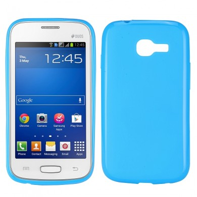 Чехол-накладка TPU cover case for Samsung S7260/S7262 Galaxy Star Pro/Plus (blue)