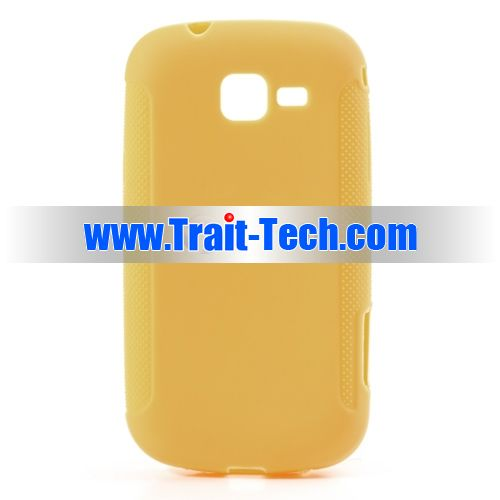 Чехол-накладка TPU cover case for Samsung S7260/S7262 Galaxy Star Pro/Plus (gold)