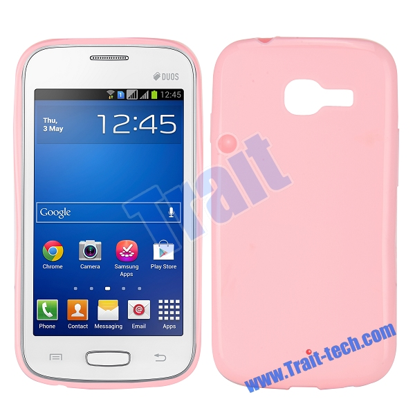 Чехол-накладка TPU cover case for Samsung S7260/S7262 Galaxy Star Pro/Plus (pink)