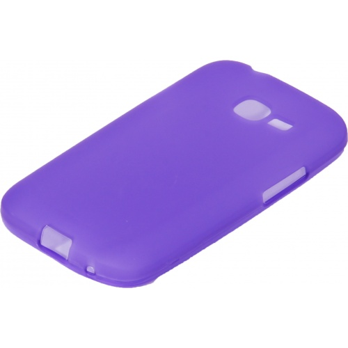 Чехол-накладка TPU cover case for Samsung S7260/S7262 Galaxy Star Pro/Plus (purple)