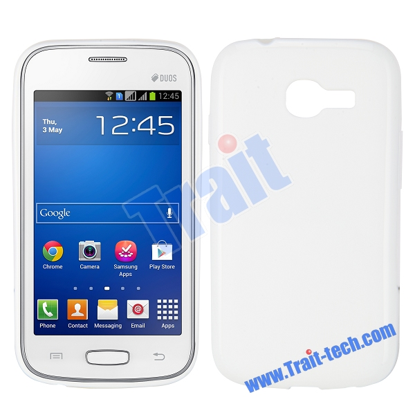 Чехол-накладка TPU cover case for Samsung S7260/S7262 Galaxy Star Pro/Plus (white)