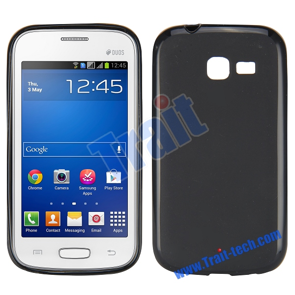 Чехол-накладка TPU cover case for Samsung S7390/S7392 Galaxy Trend (black)