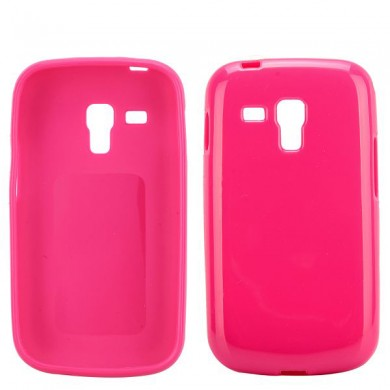 Чехол-накладка TPU cover case for Samsung S7562/S7582 Galaxy S Duos/S2 (pink)