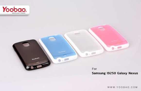 Чехол-накладка Yoobao 2 in 1 Protect case для Samsung i9250 Galaxy Nexus (pink)