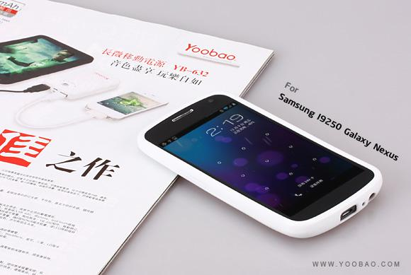 Чехол-накладка Yoobao 2 in 1 Protect case для Samsung i9250 Galaxy Nexus (white)