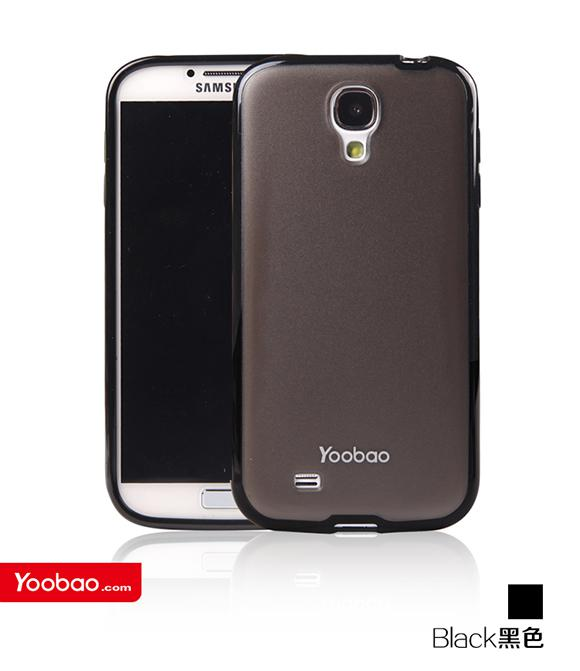 Чехол-накладка Yoobao 2 in 1 Protect case for Samsung i9500 Galaxy S IV (black)