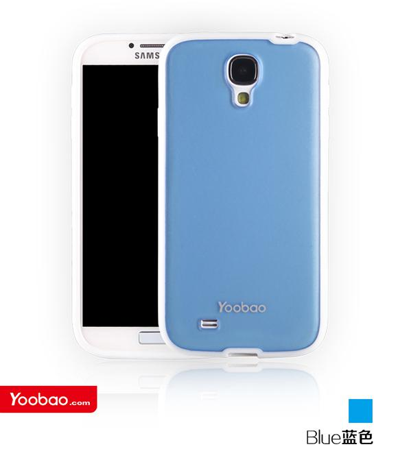Чехол-накладка Yoobao 2 in 1 Protect case for Samsung i9500 Galaxy S IV (blue)