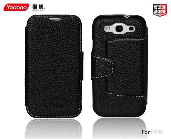 Чехол Yoobao Executive leather case для Samsung i9300 Galaxy S III (black)