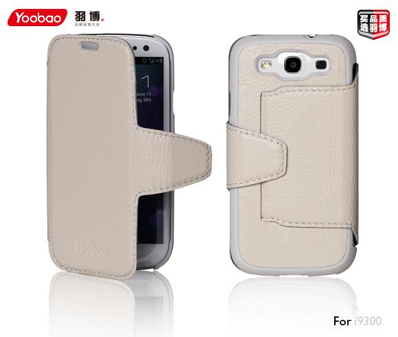 Чехол Yoobao Executive leather case для Samsung i9300 Galaxy S III (white)