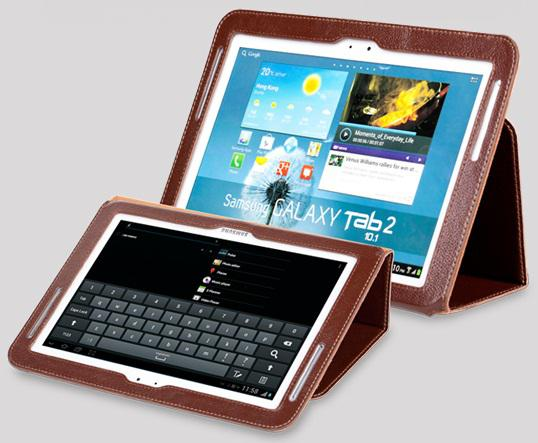 Чехол Yoobao Executive leather case для Samsung P5100 Galaxy Tab 2 10.1 (brown)