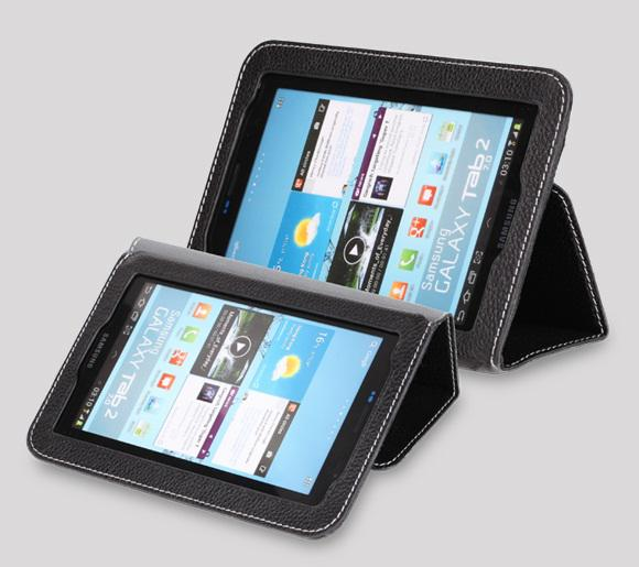 Чехол Yoobao Executive leather case для Samsung P3100/ P3110 Galaxy Tab 2 7.0 (black)