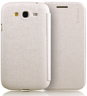 Чехол Yoobao Slim Leather case for Samsung i9060/i9062/i9063/i9065 Galaxy Grand Neo, i9080/i9082 Galaxy Grand (white)